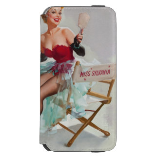 Miss Sylvania Pin-Up Girl iPhone 6/6s Wallet Case