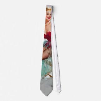 Miss Sylvania Pin-Up Girl Neck Tie