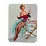 Miss Sylvania Pin-Up Girl Rectangular Magnet