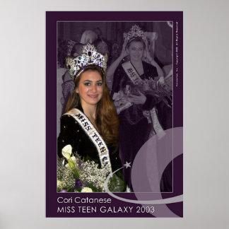 Miss Teen Galaxy 2003 Poster