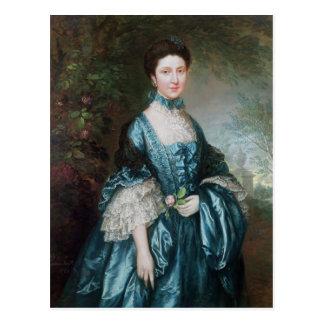 Miss Theodosia Magill Postcard
