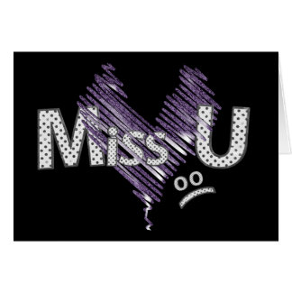 Miss U Card
