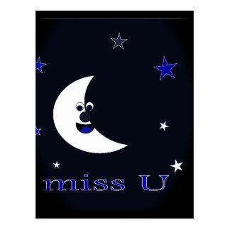 miss u postcard