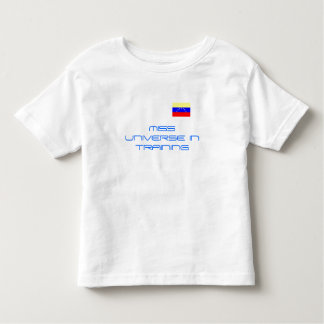 MISS UNIVERSE IN TRAINING-VENEZUELAN FLAG T-SHIRTS