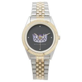 Miss USA America style Custom Two-Tone Watch