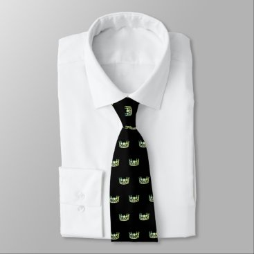 USA Themed Miss USA Apple Green Crown Men's Tie
