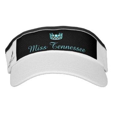 USA Themed Miss USA Aqua Crown Visor  Hat