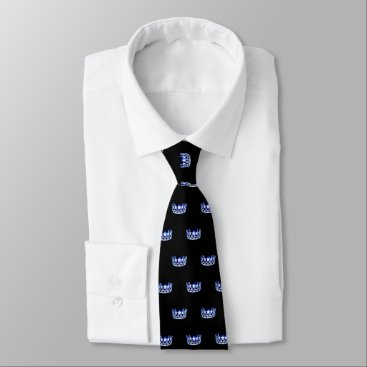 USA Themed Miss USA Blue Crown Men's Tie