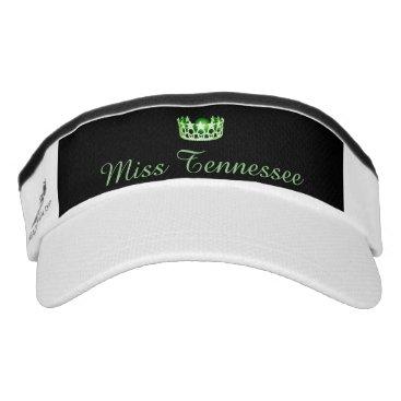 USA Themed Miss USA Green Crown Visor  Hat