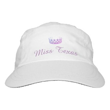 USA Themed Miss USA Lilac Crown Baseball Cap