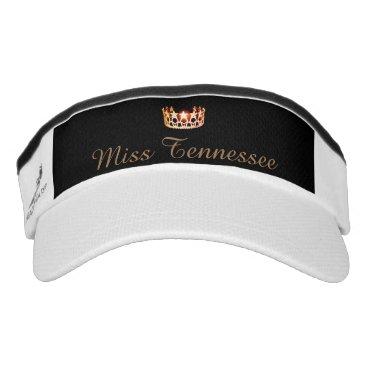 USA Themed Miss USA Orange Crown Visor  Hat