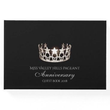 USA Themed Miss USA Silver Crown Anniversary Guest Book