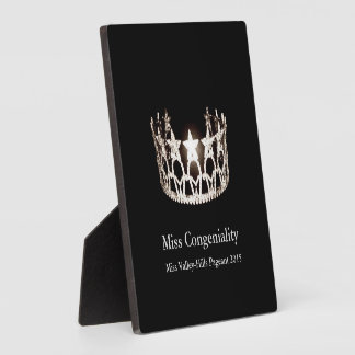 Miss USA Silver Crown Awards Plaque