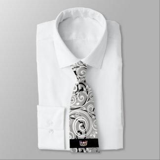 Miss USA Silver Crown Men's Flourish Tie