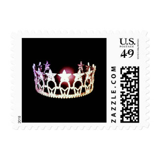 Miss USA Silver Crown Postage Stamps