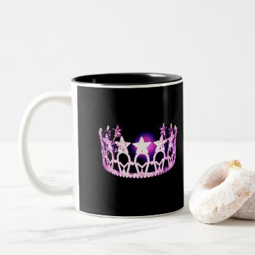USA Themed Miss USA style Orchid Crown Mug