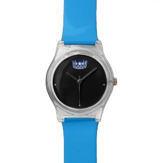 Miss USA type Blue Crown Watch