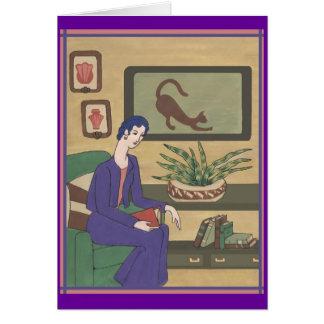 Miss Violet Card