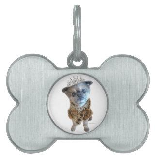Miss Winkie Dog Bone Pet Tag