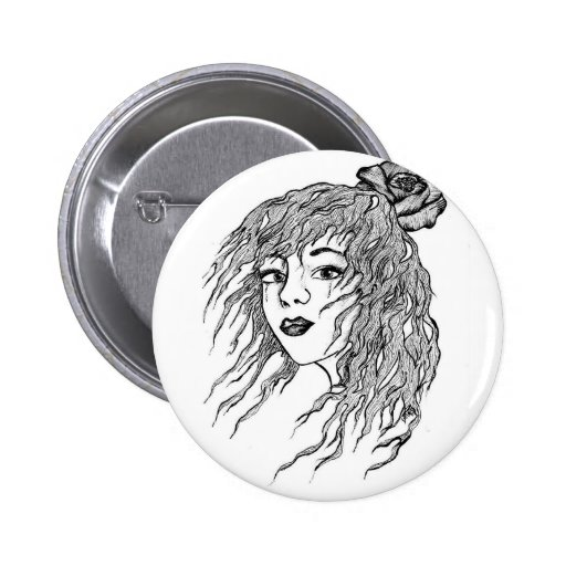 MIss you. 2 Inch Round Button