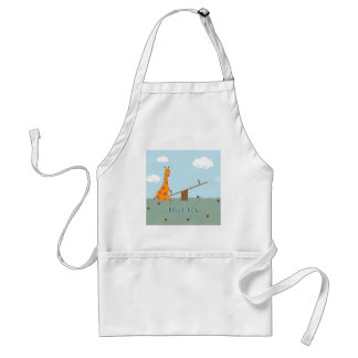 Miss You Adult Apron