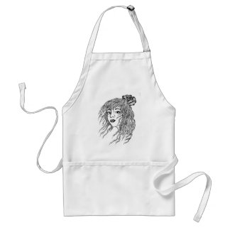 MIss you. Adult Apron