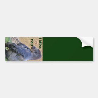 Miss You_Customize Product Bumper Sticker