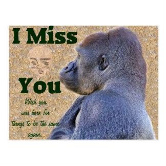 Miss You_Customize Product Postcard