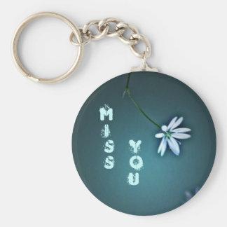 Miss You Keychain