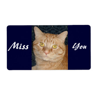 Miss You Label