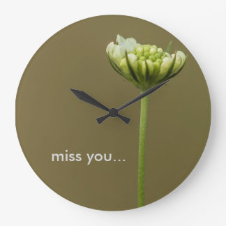 miss you large clock