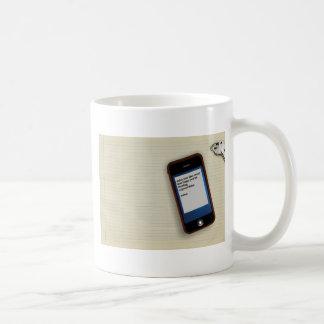 Miss You Like Crazy Classic White Coffee Mug