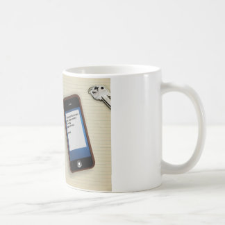 Miss You Like Crazy Classic White Coffee Mug