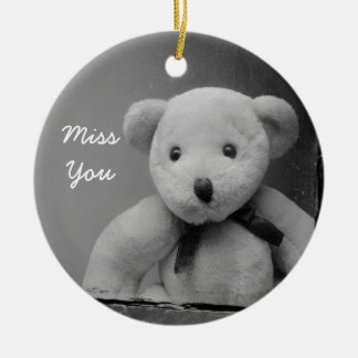 """Miss You"" Ornament"