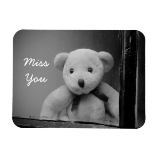 """Miss You"" Photo Magnet"