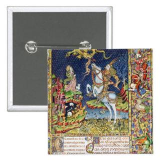 Missal de San Jorge de Topusko Pin Cuadrada 5 Cm