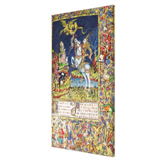 Missal of St. George of Topusko Stretched Canvas Print