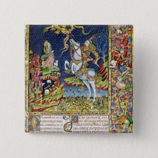 Missal of St. George of Topusko Pinback Button