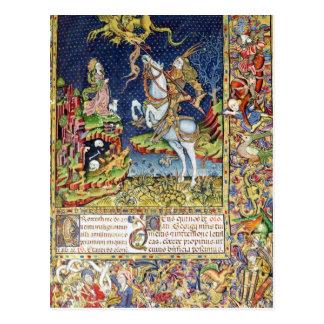 Missal of St. George of Topusko Postcard