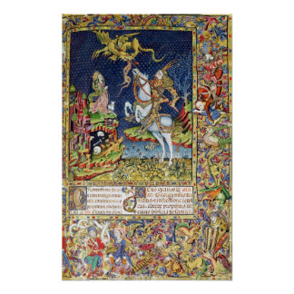 Missal of St. George of Topusko Poster