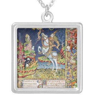 Missal of St. George of Topusko Silver Plated Necklace