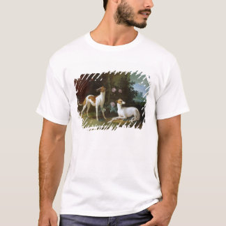 Misse and Turlu, two greyhounds of Louis XV T-Shirt