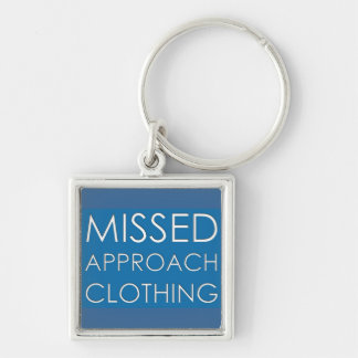Missed Approach Clothing Keychain