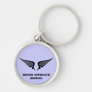 Missed Approach Keyring Keychain