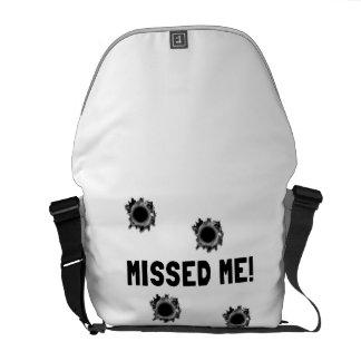 Missed Me Courier Bag