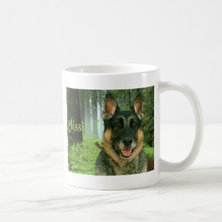 Missie T in the forest.png Coffee Mug