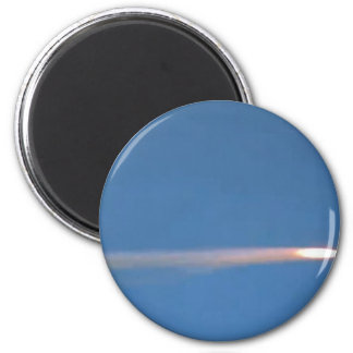 MISSILE 2 INCH ROUND MAGNET