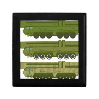 Missile carrier vector gift box