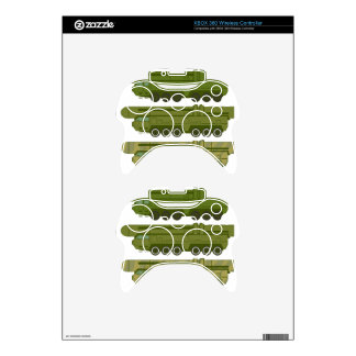 Missile carrier vector xbox 360 controller decal