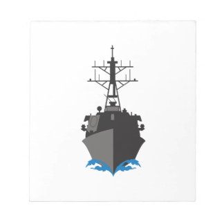 MISSILE CRUISER NOTEPAD